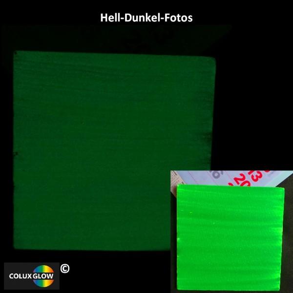 Buntfarbe Acrylfarbe Grün phosphorisierend
