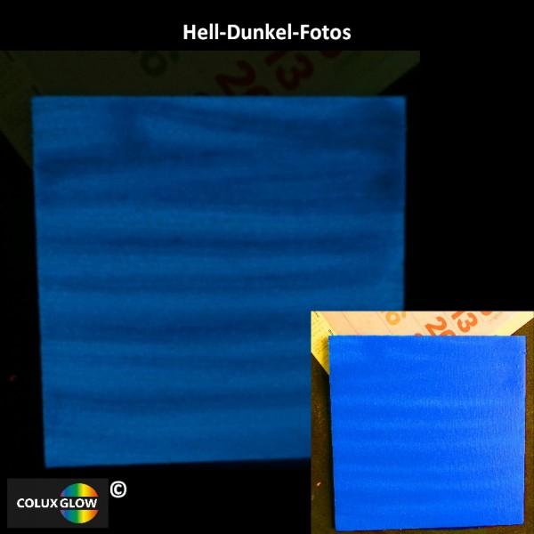 Buntfarbe Acrylfarbe Blau nachtleuchtend