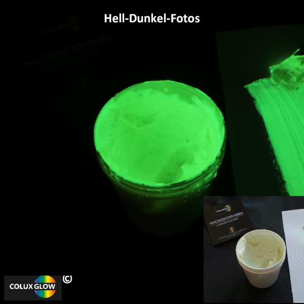 Textildruckfarbe gelbgrün transparent
