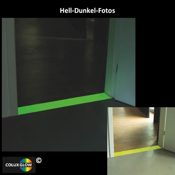 Gelbe Bodenmarkierung Innen