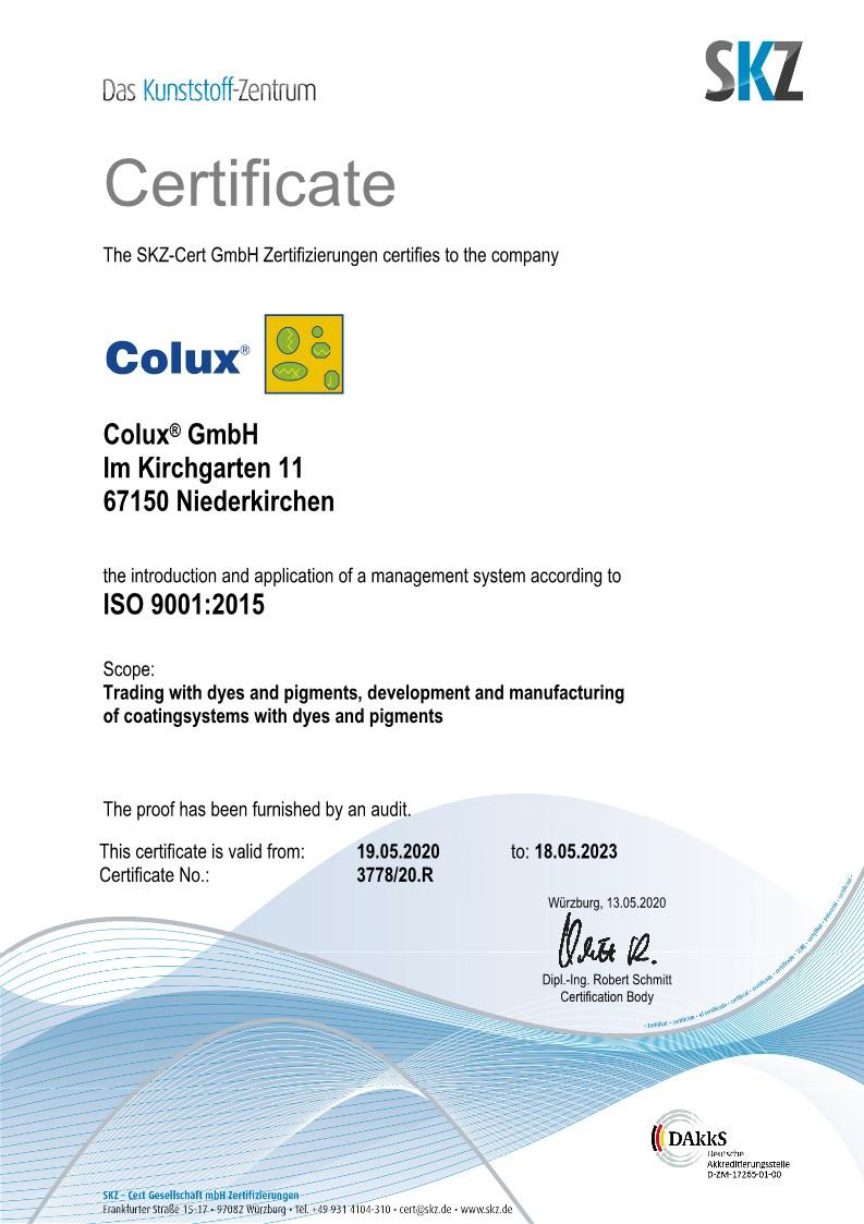 Zertifikat_Colux