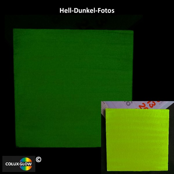 Buntfarbe Acrylfarbe Zitronengelb Hell-Dunkel