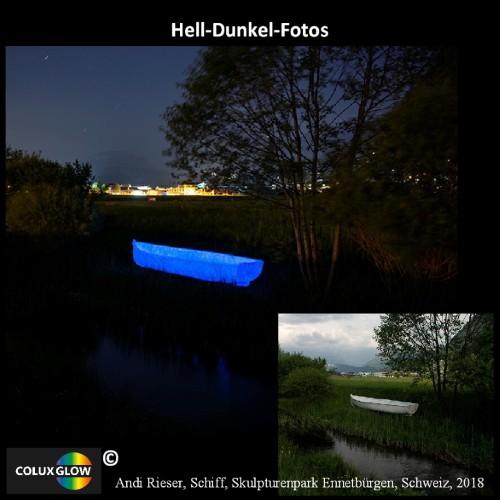 Acrylfarbe Nachtleuchtfarbe Schiff Rieser